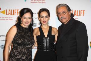 Marlene Dermer, Ana de la Reguera y Edward J. Olmos.