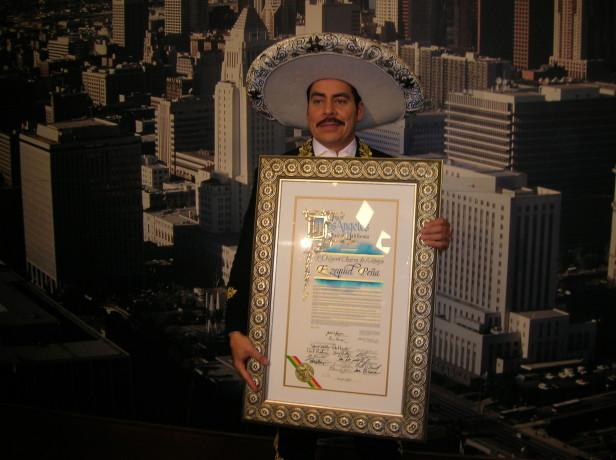 Nombran el 27 de noviembre día de Ezequiel Peña en Los Angeles. Foto: Myriam Reyes