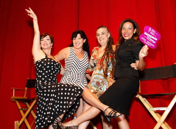 Presentan elenco de la versión en español de la obra Menopausia El Musical. Fotos: Especial