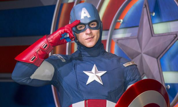 El héroe es una de las novedades del parque de diversión Disneyland en Anaheim.