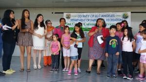 La Supervisora del Condado de Los Ángeles, Gloria Molina, asistió a la celebración. Foto: Kioskonews
