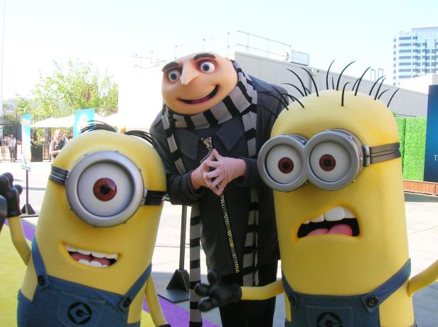 Los Minions traen travesuras y alboroto a Universal Studios Hollywood.