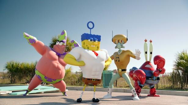 La primer imágen de la próxima película Spongebob: Sponge out of Water que se estrenará en febrero del 2015.