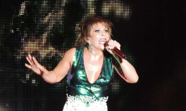 Alejandra Guzmán se presentó en el Greek Theatre. Foto: Claudia León.