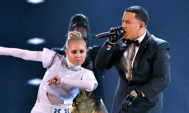 Daddy Yankee durante su  presentación de Premios Lo Nuestro a la Música Latina 2014. Foto: Archivo