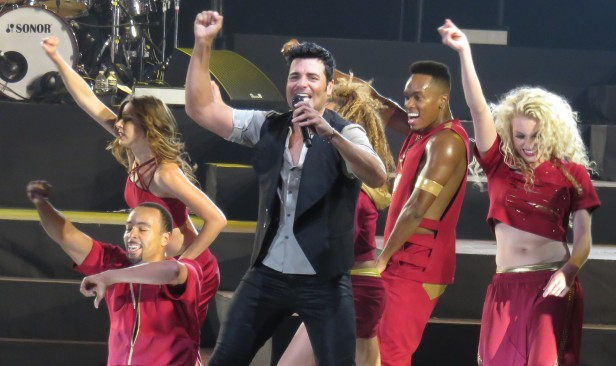 Chayanne se presentó en el Staples Center ante mas de 19 mil almas. Fotos: Odalys Pomales