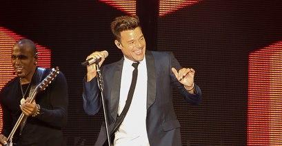 Ricky Martin presentó un concierto lleno de adrenalina y luces en The Forum de Inglewood. Foto: DdPixels