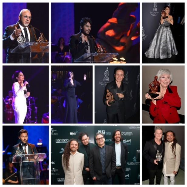 Una gran noche celebro la industria de la música durante la tercera gala de La Musa Awards.