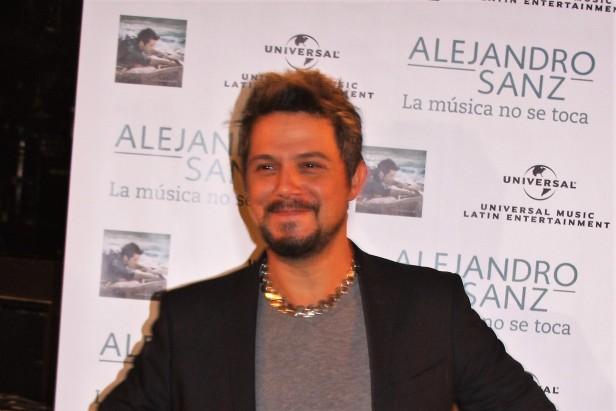 Alejandro Sanz será distinguido durante la próxima entrega del Latin Grammy el 15 de noviembre en Las Vegas.