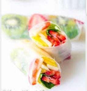 Fruit Spring Roll