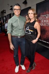 Jaime Camil y su esposa Heidi Balvanera.