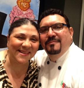 Blanca Arroyo y Vicente Ortiz.