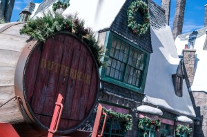 Christmas in the WWoHP at USH - Decor 5