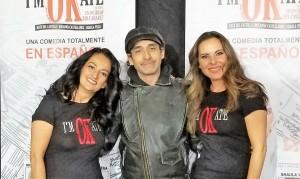 Shaula Vega, Bruno Bichir y Kate del Castillo.