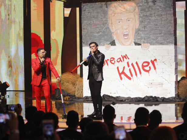 El evento estuvo llena de sorpresas y emotivas presentaciones dedicadas a los Dreamers. Fotos: EstrellaTV