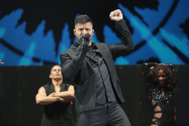 Ricky Martin cerroo el concierto K Love Live, de Uforia Music Series en The Forum el domingo pasado.