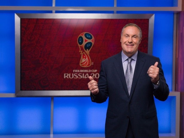 Andres Cantor, comentarista de Telemundo Deportes. Foto: Telemundo