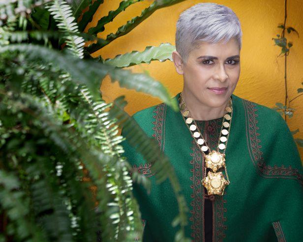 Eugenia Leon disfruta su nominacion al Latin Grammy. Foto: Cortesia