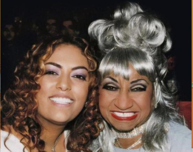 La India y Celia Cruz