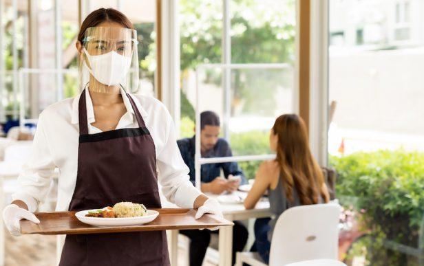 Reapertura de negocio, restaurante