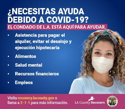 ¿Necesitas ayuda debido a Covid-19?